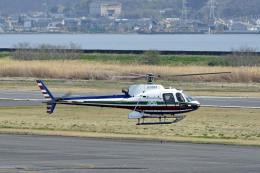Gambardierさんが、岡南飛行場で撮影したエクセル航空 AS350B2 Ecureuilの航空フォト(飛行機 写真・画像)