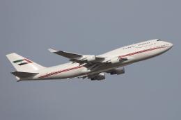 HADAさんが、成田国際空港で撮影したドバイ・ロイヤル・エア・ウィング 747-433Mの航空フォト(飛行機 写真・画像)