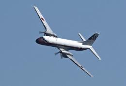 isiさんが、入間飛行場で撮影した航空自衛隊 YS-11A-218FCの航空フォト(飛行機 写真・画像)