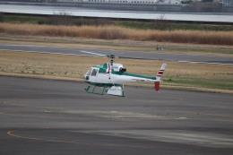 flyflygoさんが、岡南飛行場で撮影したアカギヘリコプター AS350B2 Ecureuilの航空フォト(飛行機 写真・画像)