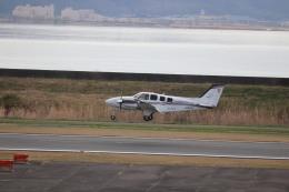 flyflygoさんが、岡南飛行場で撮影した岡山航空 G58 Baronの航空フォト(飛行機 写真・画像)