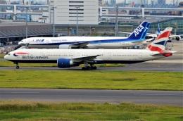 amagoさんが、羽田空港で撮影したブリティッシュ・エアウェイズ 777-336/ERの航空フォト(飛行機 写真・画像)