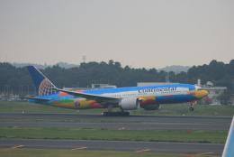 kahluamilkさんが、成田国際空港で撮影したコンチネンタル航空 777-224/ERの航空フォト(飛行機 写真・画像)