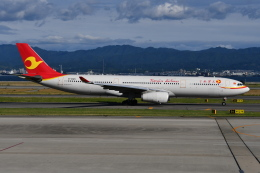 Deepさんが、関西国際空港で撮影した天津航空 A330-343Eの航空フォト(飛行機 写真・画像)