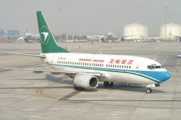磐城さんが、北京首都国際空港で撮影した深圳航空 737-76Nの航空フォト(飛行機 写真・画像)
