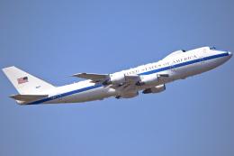 ちゅういちさんが、横田基地で撮影したアメリカ空軍 E-4B (747-200B)の航空フォト(飛行機 写真・画像)