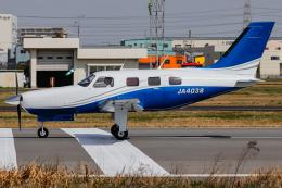 A.Tさんが、八尾空港で撮影した日本法人所有 PA-46-310P Malibuの航空フォト(飛行機 写真・画像)