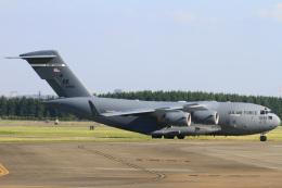 ちゅういちさんが、横田基地で撮影したアメリカ空軍 C-17A Globemaster IIIの航空フォト(飛行機 写真・画像)