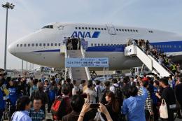 flytaka78さんが、羽田空港で撮影した全日空 747-481(D)の航空フォト(飛行機 写真・画像)