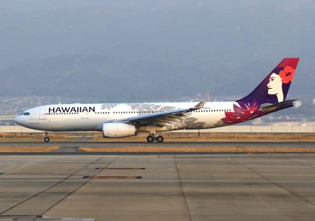 航空フォト:N383HA ハワイアン航空