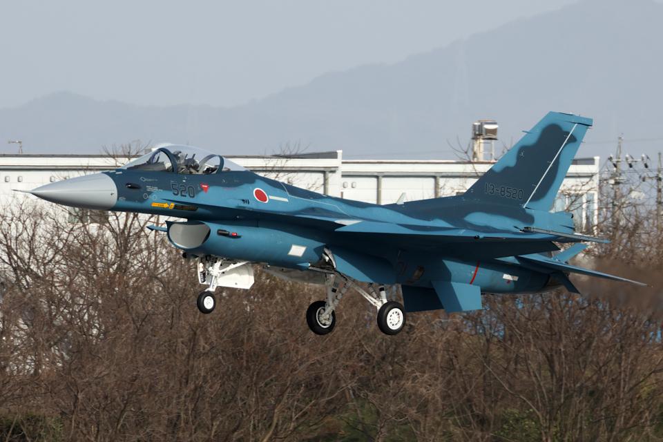 Hariboさんの航空自衛隊 Mitsubishi F-2A (13-8520) 航空フォト