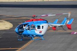 Mizuki24さんが、名古屋飛行場で撮影した中日新聞社 BK117C-2の航空フォト(飛行機 写真・画像)