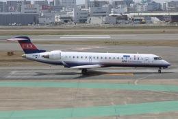 sky-spotterさんが、福岡空港で撮影したアイベックスエアラインズ CL-600-2C10 Regional Jet CRJ-702の航空フォト(飛行機 写真・画像)