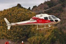 ブルーさんさんが、静岡ヘリポートで撮影した小川航空 AS355F2 Ecureuil 2の航空フォト(飛行機 写真・画像)