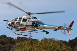 ブルーさんさんが、静岡ヘリポートで撮影した中日本航空 AS355F2 Ecureuil 2の航空フォト(飛行機 写真・画像)