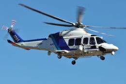 ブルーさんさんが、静岡ヘリポートで撮影したオールニッポンヘリコプター AW139の航空フォト(飛行機 写真・画像)