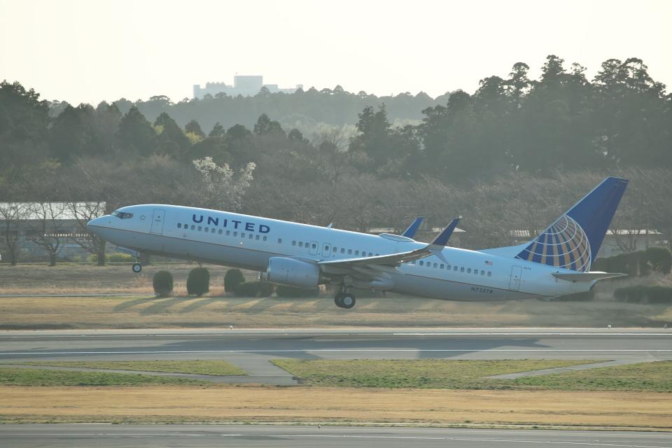 サイパンだ!さんのユナイテッド航空 Boeing 737-800 (N73278) 航空フォト