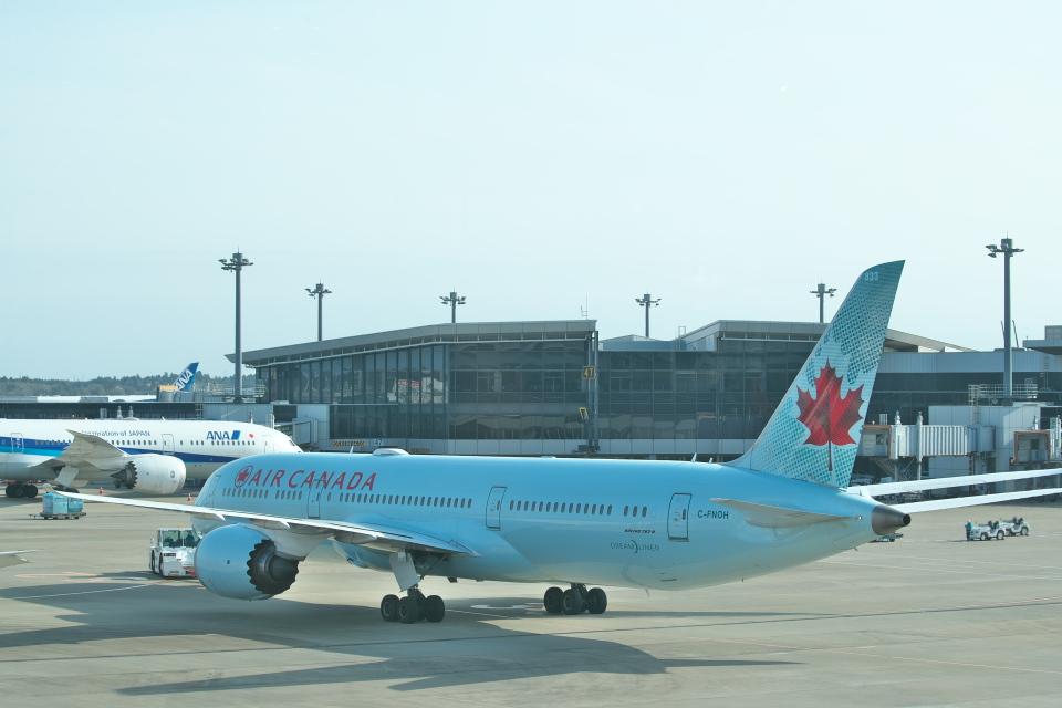 サイパンだ!さんのエア・カナダ Boeing 787-9 (C-FNOH) 航空フォト