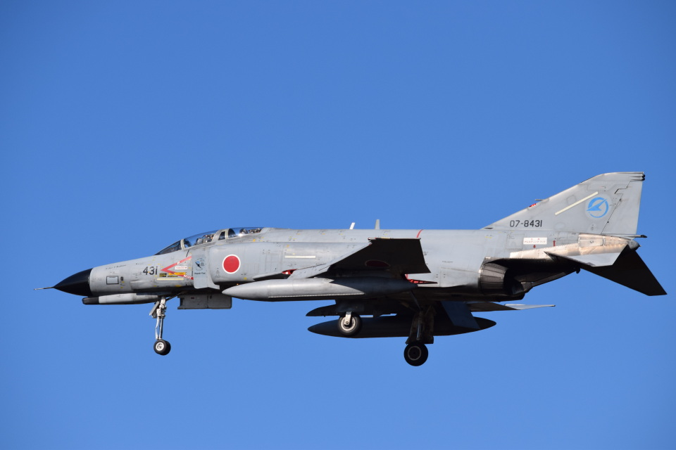 SYさんの航空自衛隊 Mitsubishi F-4EJ Kai Phantom II (07-8431) 航空フォト