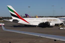 kinsanさんが、シドニー国際空港で撮影したエミレーツ航空 A380-861の航空フォト(飛行機 写真・画像)