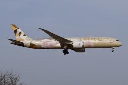 Timothyさんが、成田国際空港で撮影したエティハド航空 787-9の航空フォト(飛行機 写真・画像)