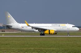chrisshoさんが、シュトゥットガルト空港で撮影したブエリング航空 A320-232の航空フォト(飛行機 写真・画像)