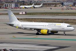 chrisshoさんが、バルセロナ空港で撮影したブエリング航空 A320-214の航空フォト(飛行機 写真・画像)