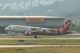 磐城さんが、ペナン国際空港で撮影したインドネシア・エアアジア A320-216の航空フォト(飛行機 写真・画像)