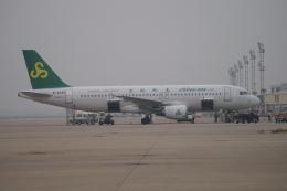 磐城さんが、上海虹橋国際空港で撮影した春秋航空 A320-214の航空フォト(飛行機 写真・画像)