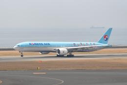 tamtam3839さんが、中部国際空港で撮影した大韓航空 777-3B5/ERの航空フォト(飛行機 写真・画像)