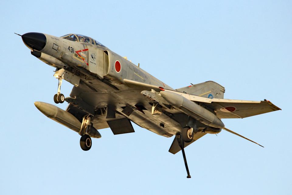 さかなやさんの航空自衛隊 Mitsubishi F-4EJ Kai Phantom II (07-8431) 航空フォト
