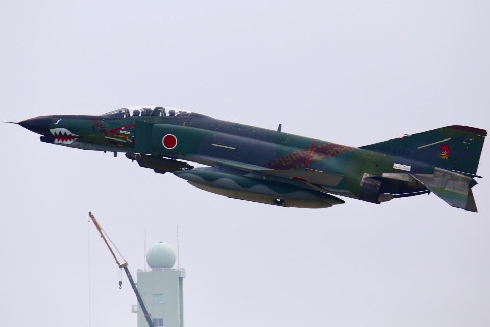 ちゅういちさんの航空自衛隊 Mitsubishi RF-4EJ Phantom II (07-6433) 航空フォト