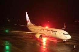 ニヤンさんが、岡山空港で撮影した日本トランスオーシャン航空 737-8Q3の航空フォト(飛行機 写真・画像)