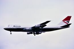 パール大山さんが、成田国際空港で撮影したブリティッシュ・エアウェイズ 747-136の航空フォト(飛行機 写真・画像)