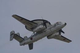 れぐぽよさんが、小松空港で撮影した航空自衛隊 E-2C Hawkeyeの航空フォト(飛行機 写真・画像)