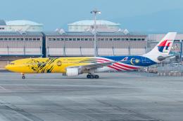 ヒロミさんが、関西国際空港で撮影したマレーシア航空 A330-323Xの航空フォト(飛行機 写真・画像)