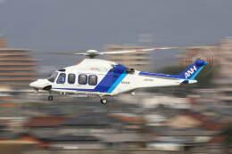 とらまるさんが、名古屋飛行場で撮影したオールニッポンヘリコプター AW139の航空フォト(飛行機 写真・画像)