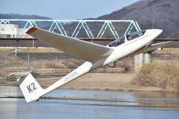 とびたさんが、角田滑空場で撮影した日本個人所有 ASK 21の航空フォト(飛行機 写真・画像)