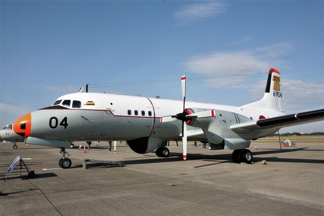 もぐ3さんが、八戸航空基地で撮影した海上自衛隊 YS-11A-206T-Aの航空フォト(飛行機 写真・画像)