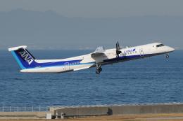 きんめいさんが、中部国際空港で撮影したANAウイングス DHC-8-402Q Dash 8の航空フォト(飛行機 写真・画像)