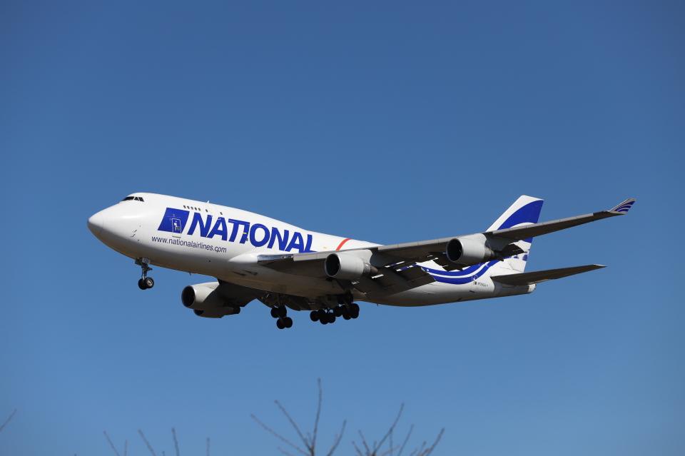 赤ちんさんのナショナル・エアラインズ Boeing 747-400 (N729CA) 航空フォト