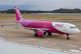 A.Tさんが、長崎空港で撮影したピーチ A320-214の航空フォト(飛行機 写真・画像)
