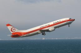 わんだーさんが、中部国際空港で撮影した日本トランスオーシャン航空 737-446の航空フォト(飛行機 写真・画像)