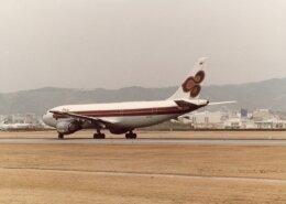 なかすぃ~さんが、伊丹空港で撮影したタイ国際航空 A300B4-103の航空フォト(飛行機 写真・画像)
