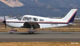 RINA-281さんが、福井空港で撮影した日本個人所有 PA-28-151 Cherokee Warriorの航空フォト(飛行機 写真・画像)