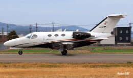 RINA-281さんが、福井空港で撮影した岡山航空 510 Citation Mustangの航空フォト(飛行機 写真・画像)
