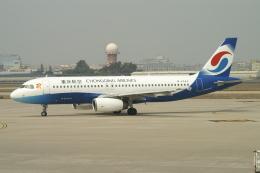 磐城さんが、廈門高崎国際空港で撮影した重慶航空 A320-232の航空フォト(飛行機 写真・画像)