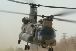 れぐぽよさんが、熊谷基地で撮影した航空自衛隊 CH-47Jの航空フォト(飛行機 写真・画像)