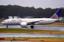 SFJ_capさんが、成田国際空港で撮影したユナイテッド航空 787-8 Dreamlinerの航空フォト(飛行機 写真・画像)