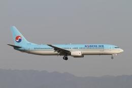 ☆H・I・J☆さんが、関西国際空港で撮影した大韓航空 737-9B5の航空フォト(飛行機 写真・画像)
